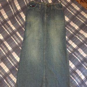 Tommy Hilfiger ultra long pencil skirt/side slits